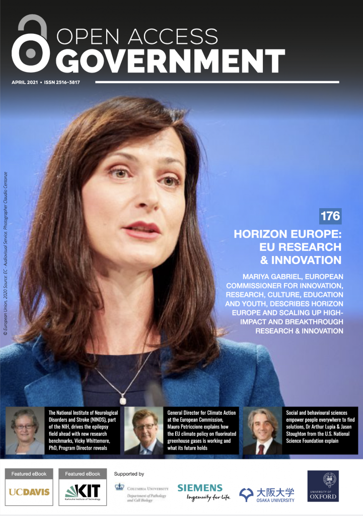 Open Access Government front cover